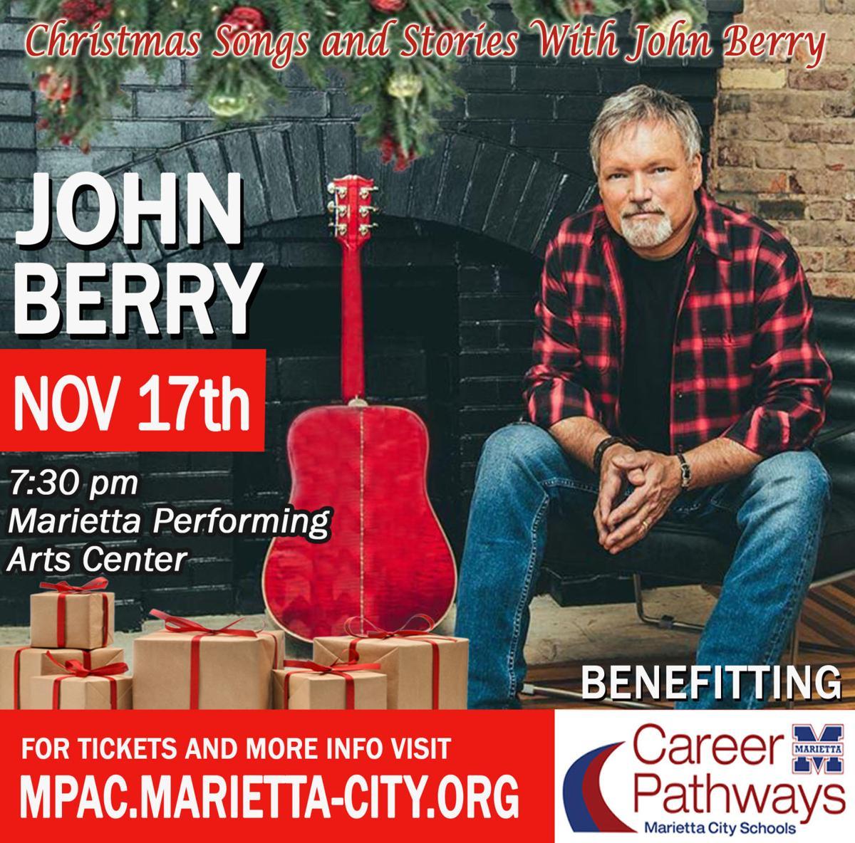John Berry Christmas concert set for Nov. 17 | News | mdjonline.com