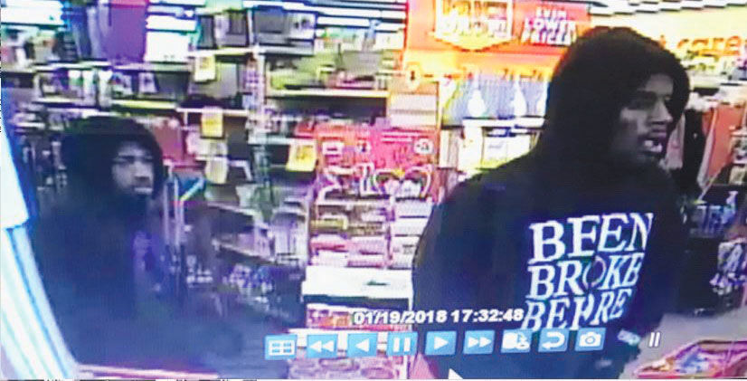 Robbery suspects 1 first two suspects
