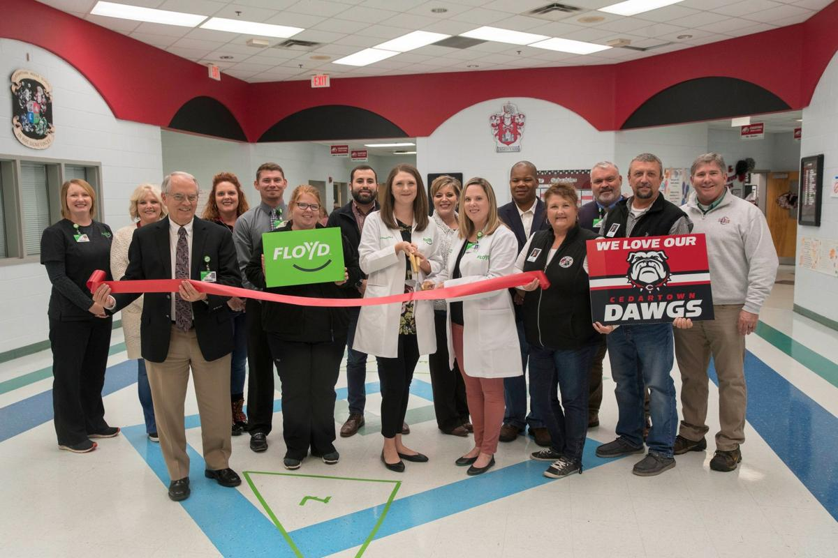 Cedartown Middle Clinic Ribbon Cutting 2019