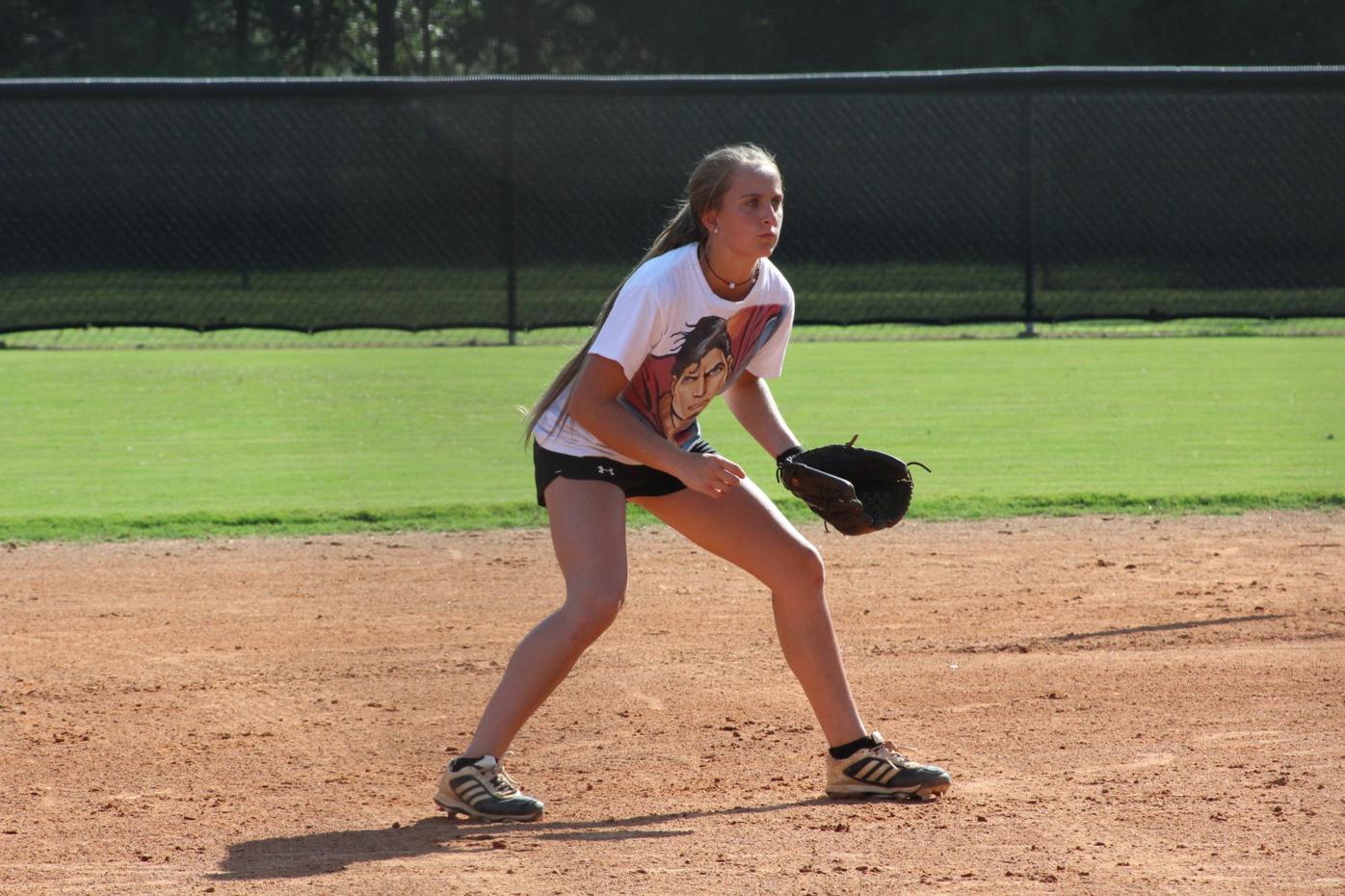 Chapel Hill softball Savannah Sikes