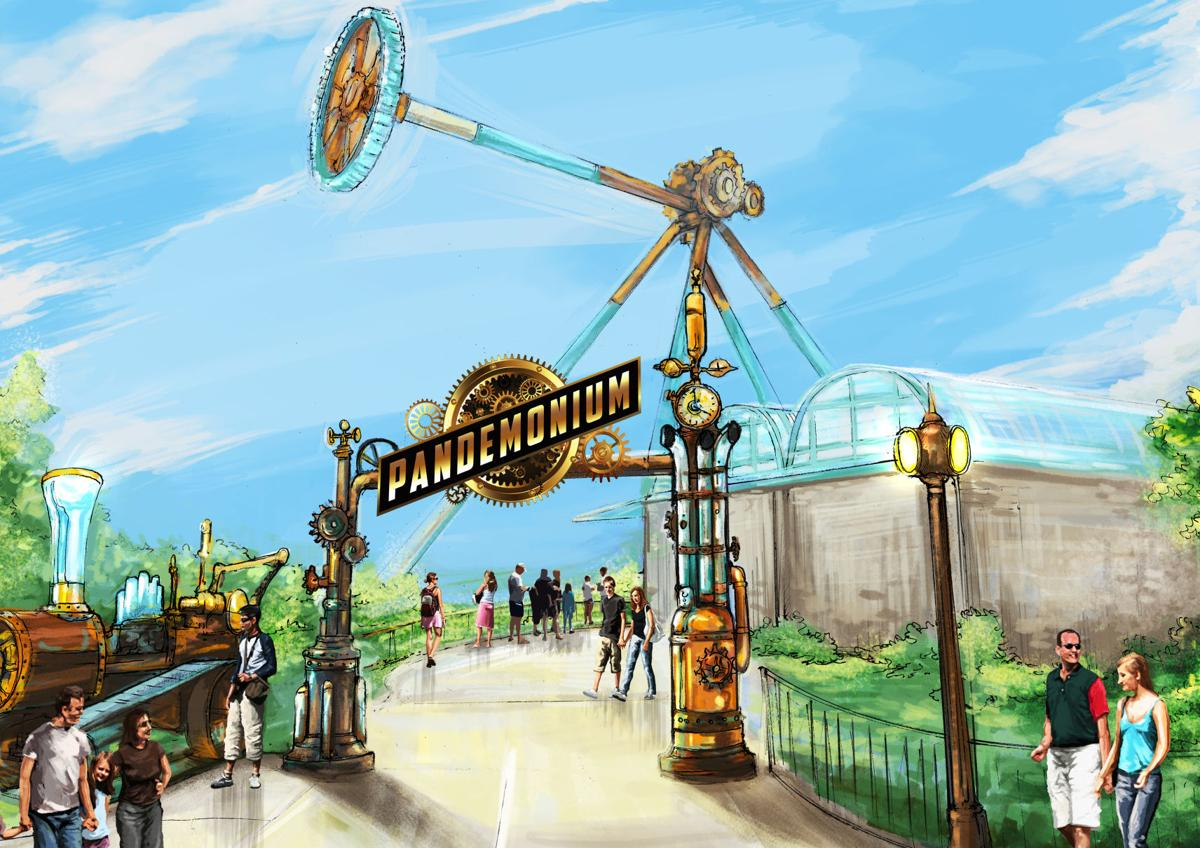 Six Flags Unveils New Attraction For 2019 Pandemonium