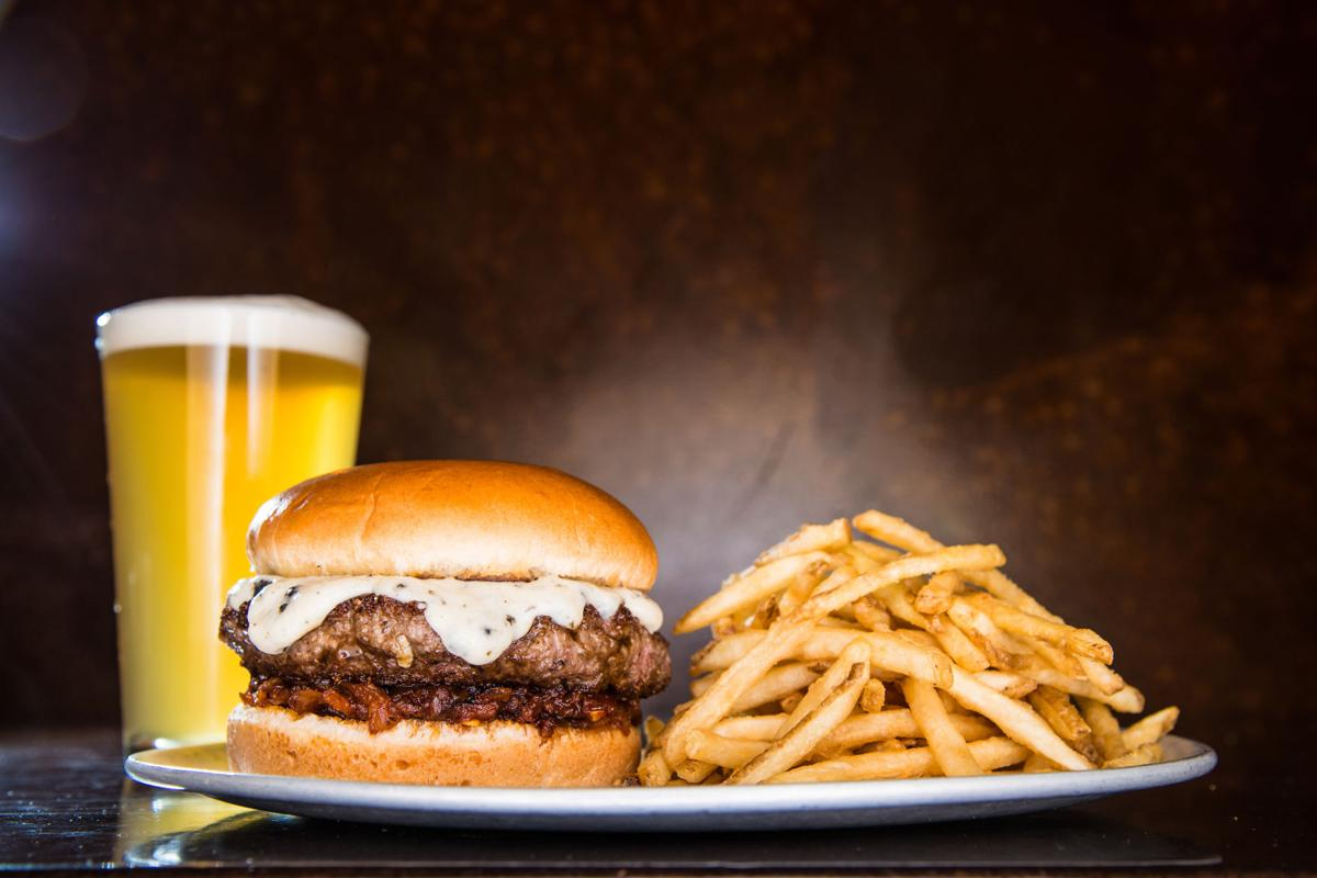Yard House - Black Truffle Burger - Photo by Breslow Partners.jpg