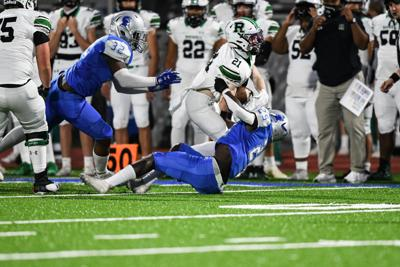Campbell vs Roswell High School Friday Night Football action
