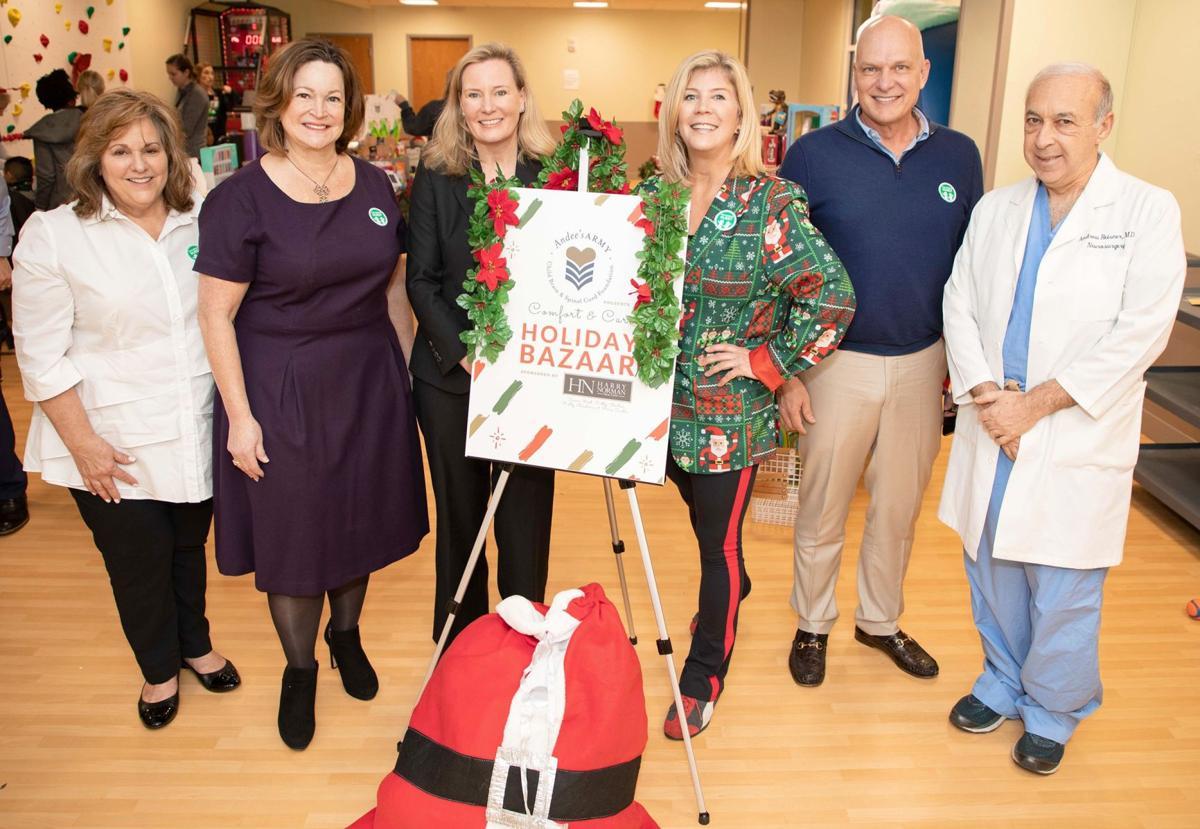 012220_MNS_full_Christmas_Bazaar_002 Elaine Carlos Cathy Boston Kelly Boudreau Nina Cheney Travis Reed Andrew Reisner