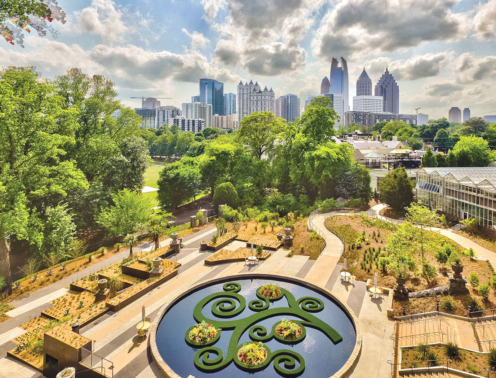 Skyline Garden 2. The Atlanta Botanical ...