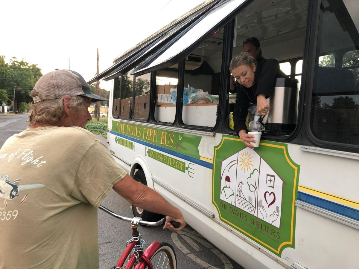HOPE Alliance brings basics to homeless with help of Davies bus