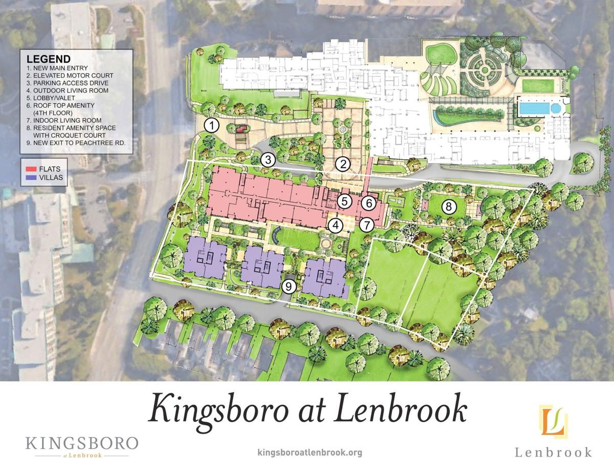 102319_MNS_Kingsboro_Lenbrook_002 Kingsboro at Lenbrook site plan