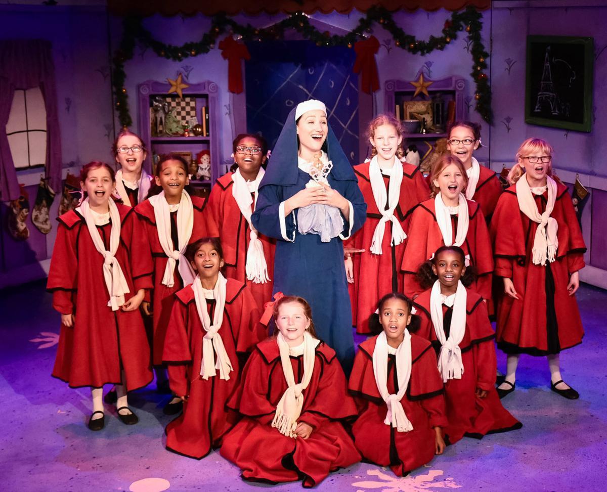 Madeline's Christmas 1 Lauren Rosenzweig with cast