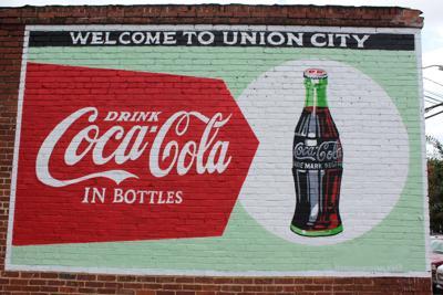 Union City Coke mural