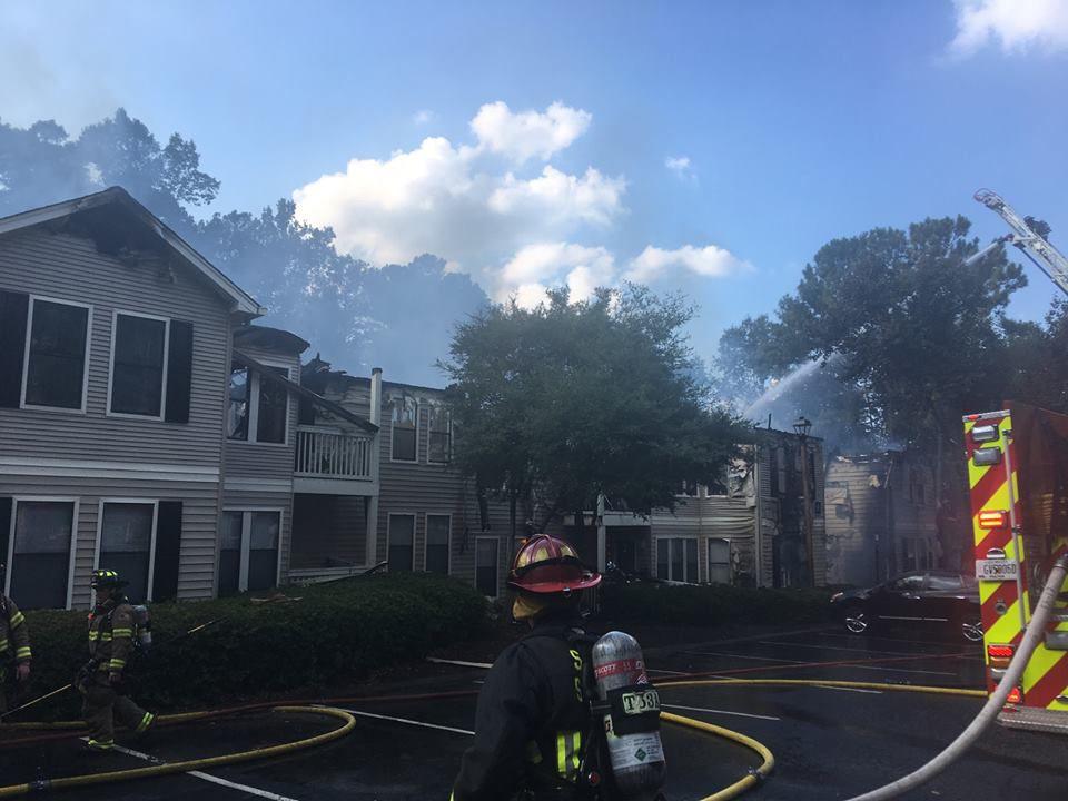 Azalea Park Apartment Fire