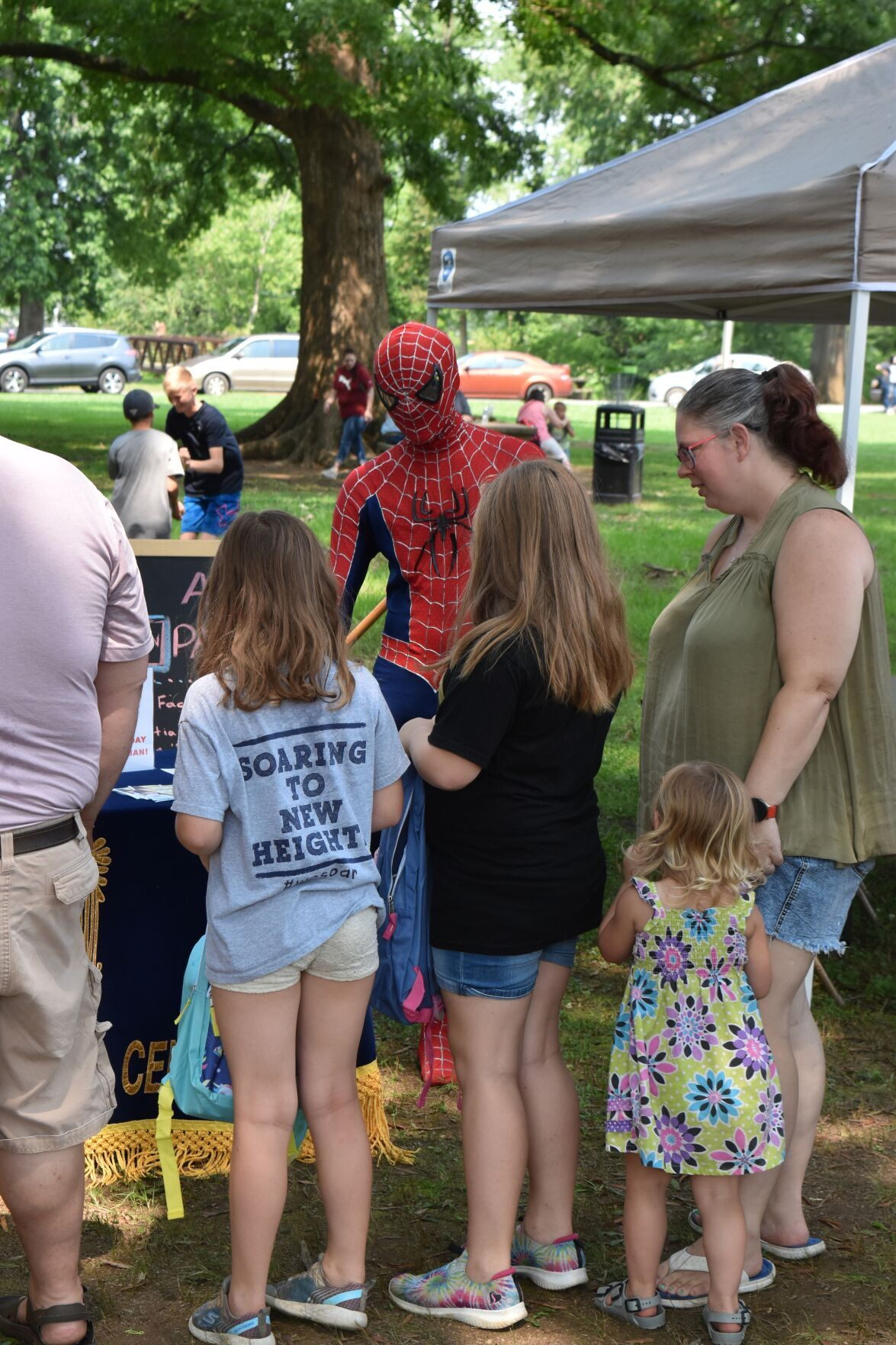 Back-to-school event draws hundreds to rec. department