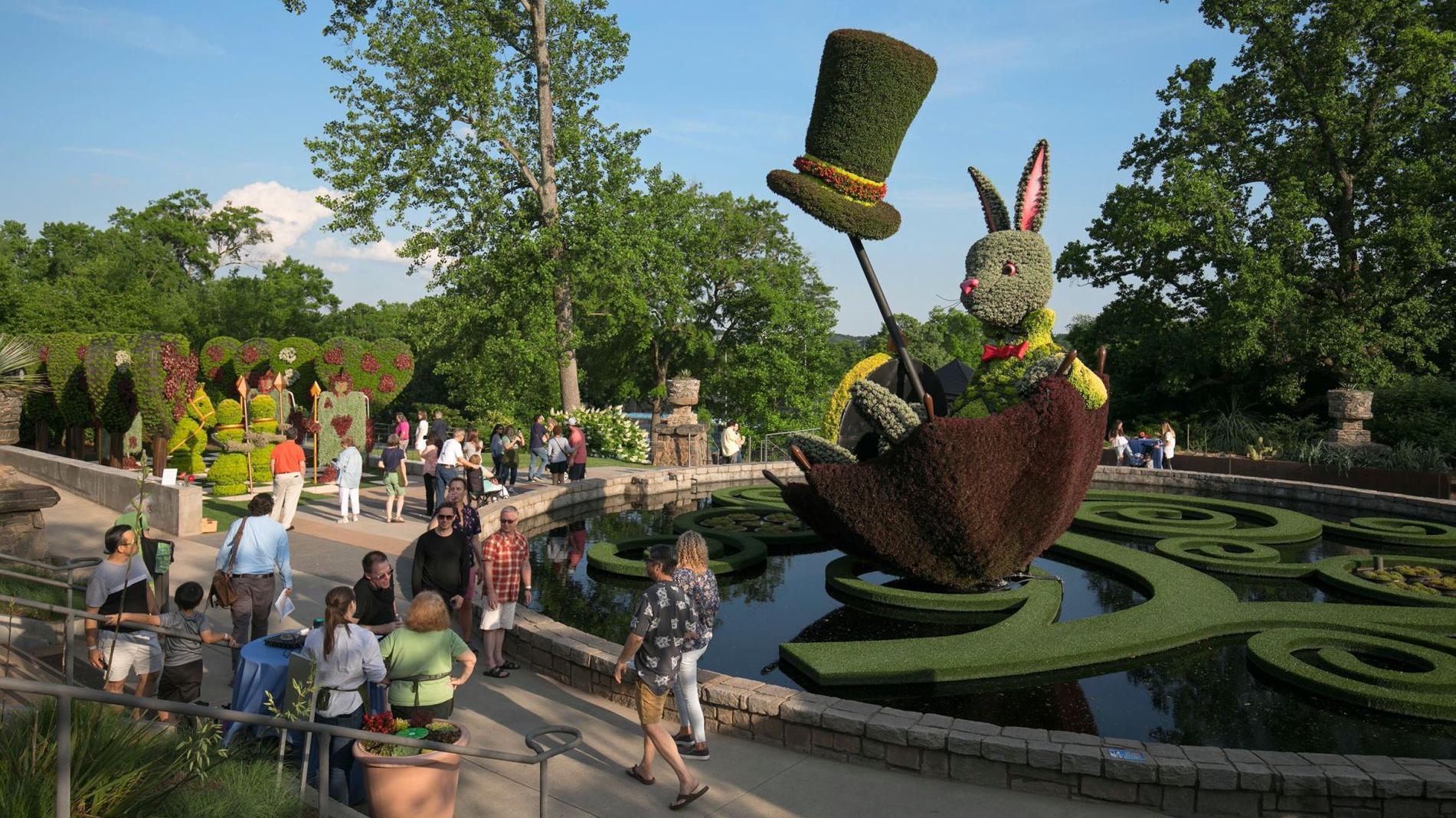 Atlanta Botanical Garden Springs Alice S Wonderland To Life Northside Sandy Springs Neighbor Mdjonline Com