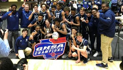 St. Francis boys' basketball team