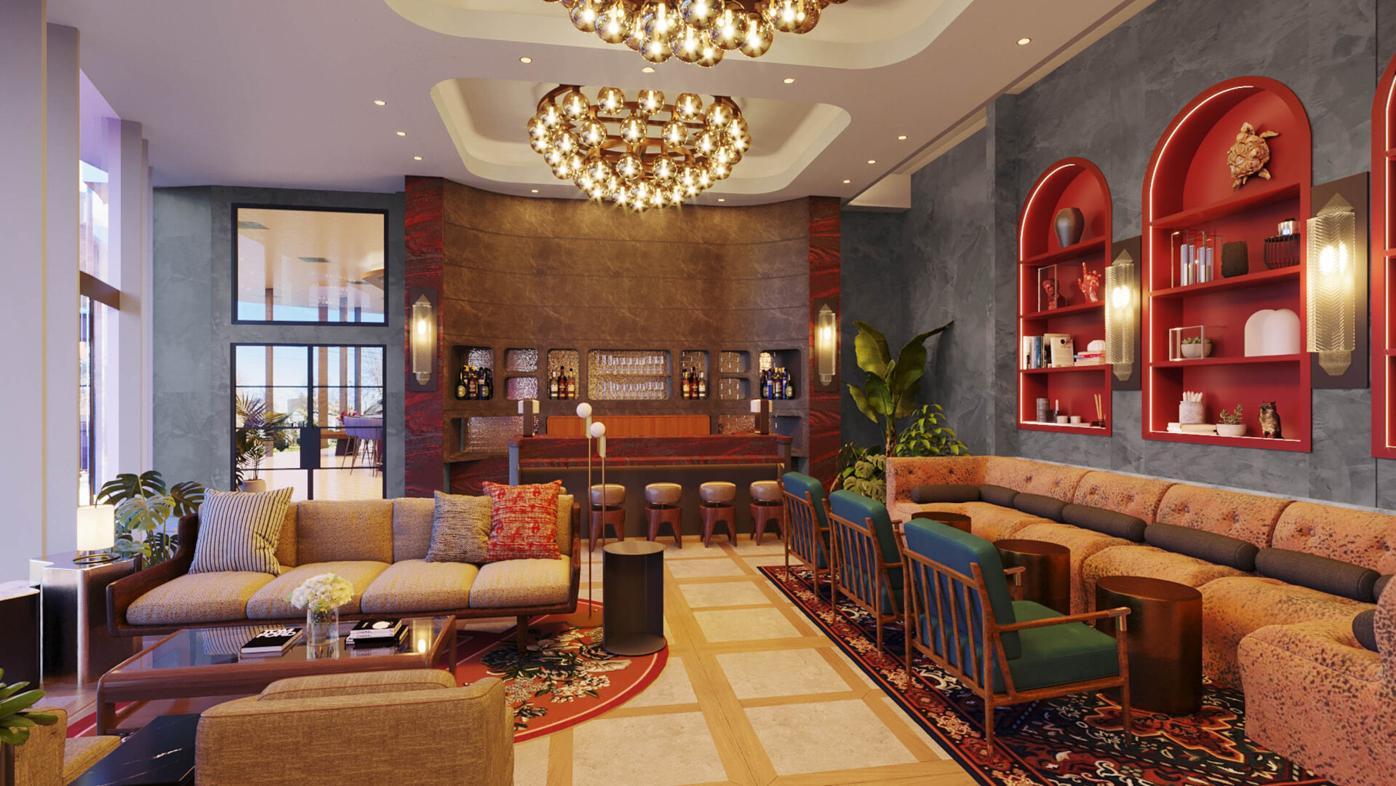 Thompson Hotel Lobby