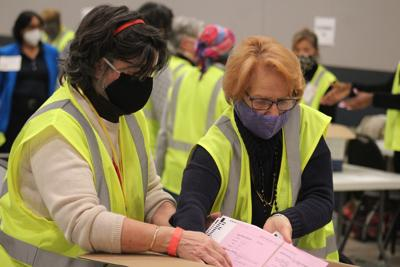 Cobb elections workers