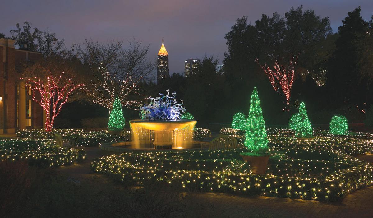 Garden Lights Holiday Nights Brightens Spirits Suburban Atlanta 39 S