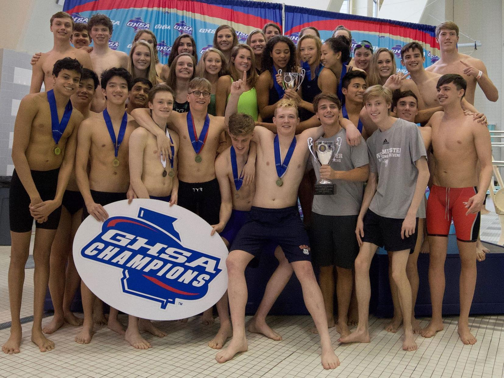 Westminster And Marist Swimming And Diving Teams Bring Home State Titles Sports Mdjonline Com