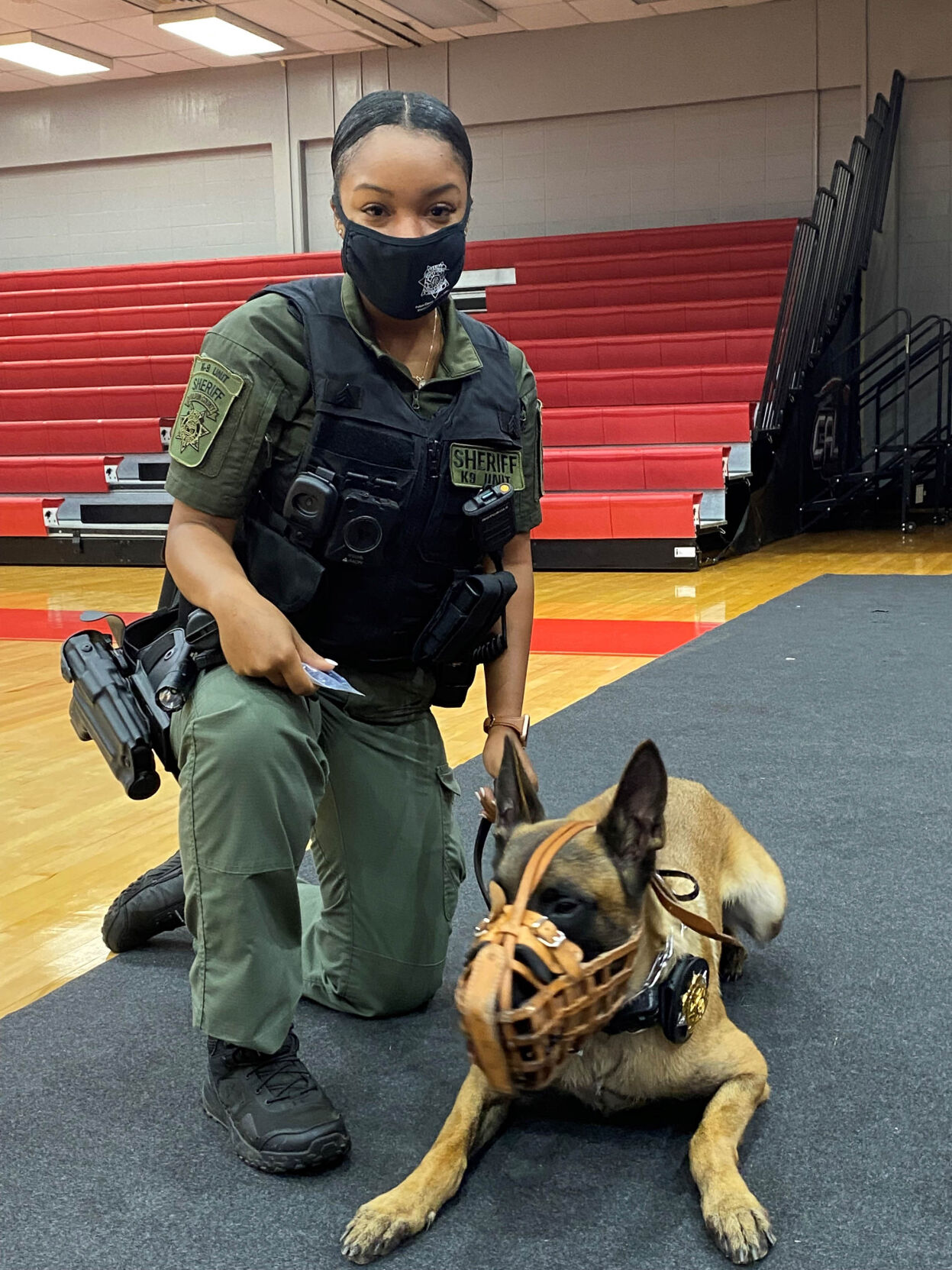 Sgt McEachin and Cosmo