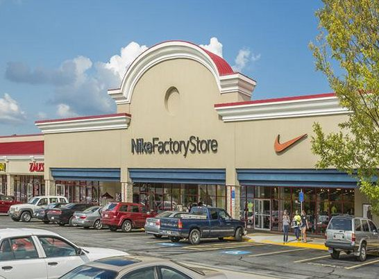 Tanger Outlets Nike store