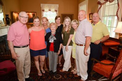 Sally Litchfield Former Uga Football Coach Vince Dooley Visits