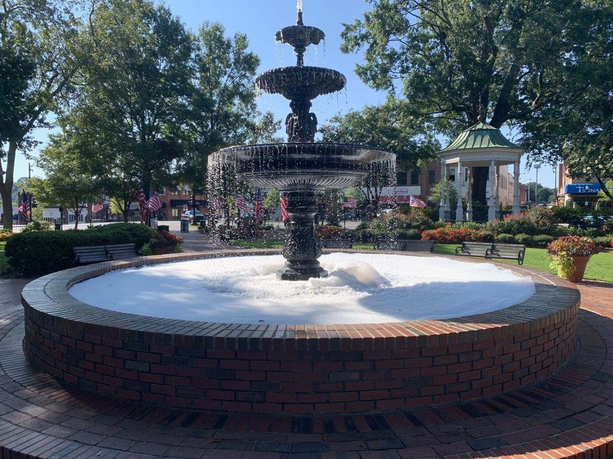 Sudsy Fountain 1