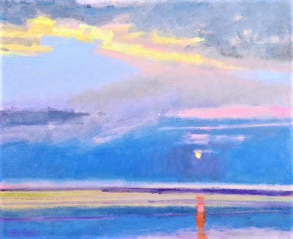 041719_MNS_Deans_exhibit_001 Rodger Bechtold's Sunset