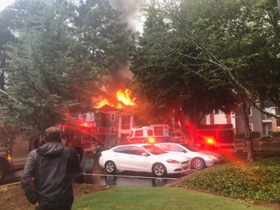 Smyrna apartment fire