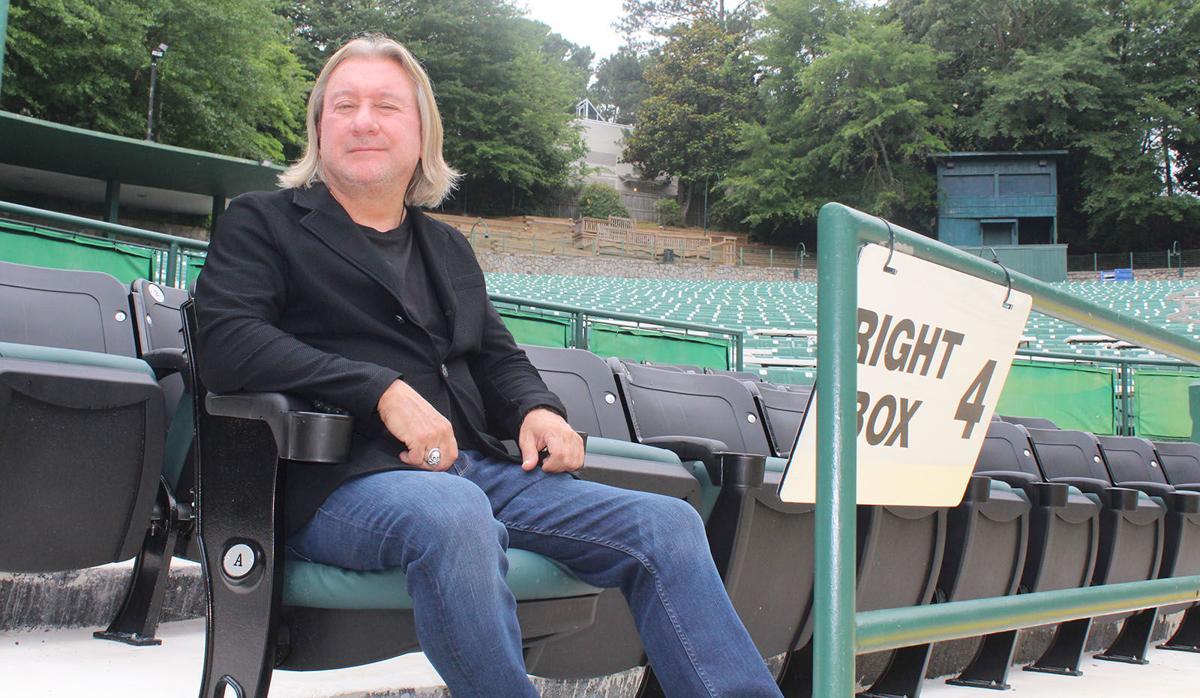 Chastain amphitheatre 9 Peter Conlon box seats