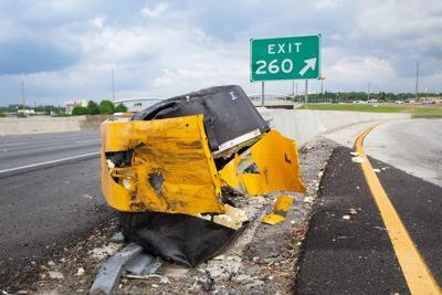 Police vehicle crash