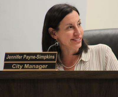 City Manager goodbyes
