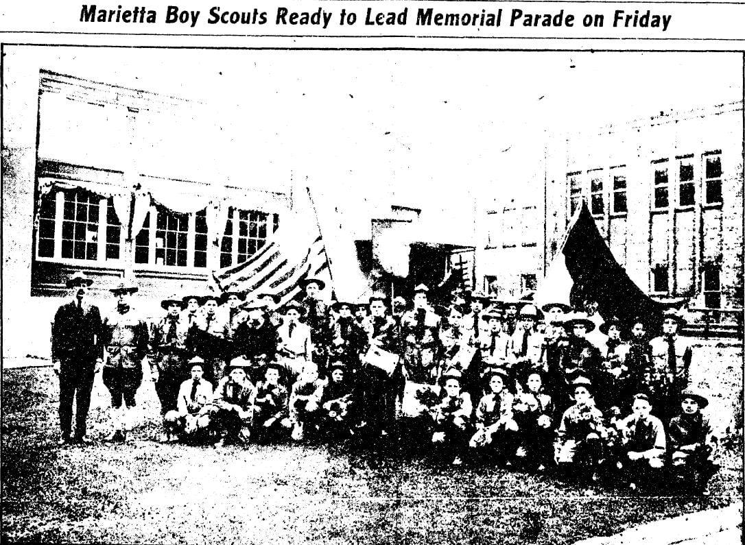 Marietta Boy Scouts Memorial Parade - Time Capsule