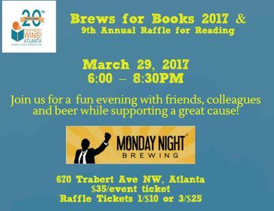 Brews for Books flyer