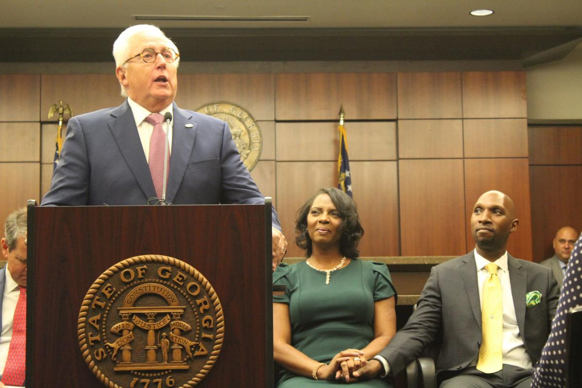 Making history: Joyette Holmes becomes Cobb County's first