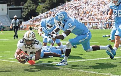 APTOPIX North Carolina Georgia Tech Fotball