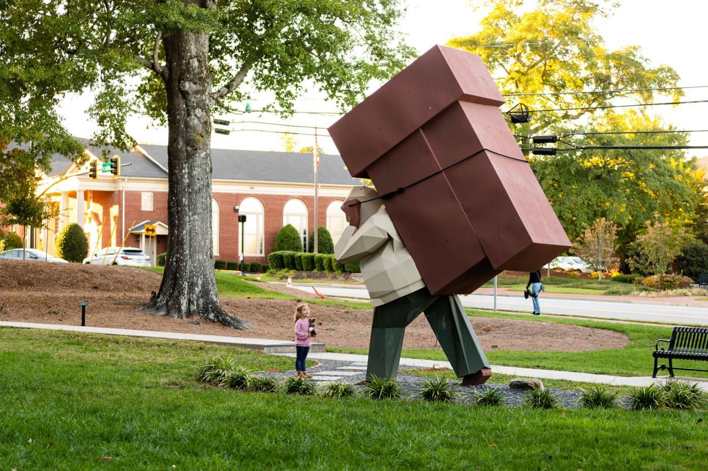 Laborer Sculpture
