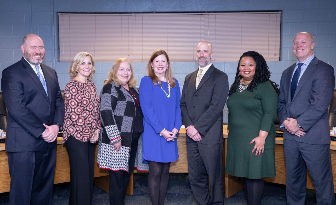 Maritta school board with Levine .jpg