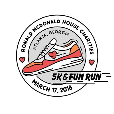 Atlanta Ronald McDonald House Charities 5K and Fun Run logo