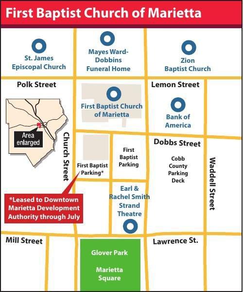 First Baptist Church lots