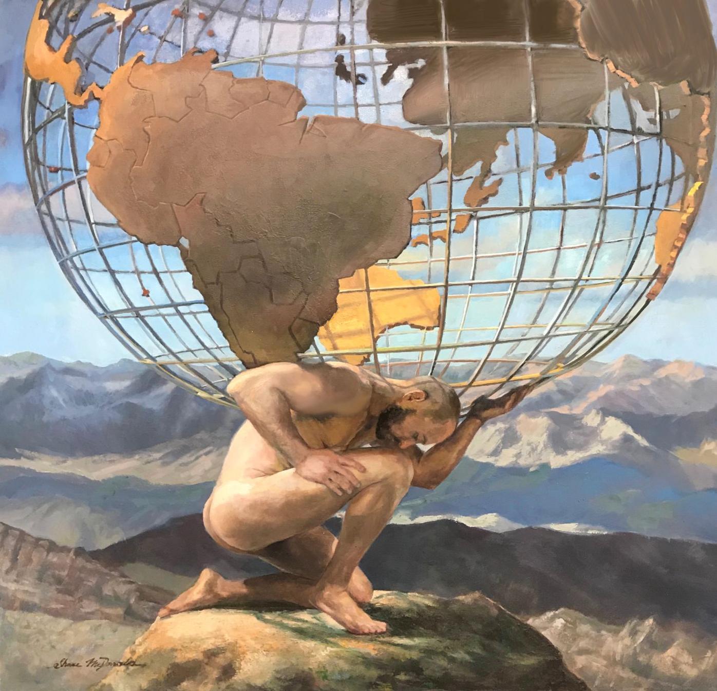 """Atlas"" by Shane McDonald"