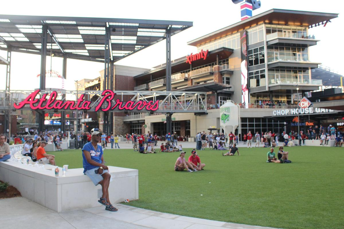 Bethel University Online >> No ticket? No problem! The Battery Atlanta offers alternative for Braves fans to gather for ...
