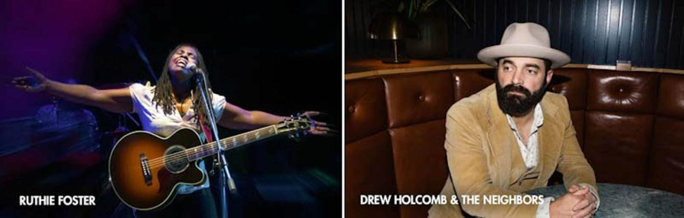 Ruthie Foster and Drew Holcomb