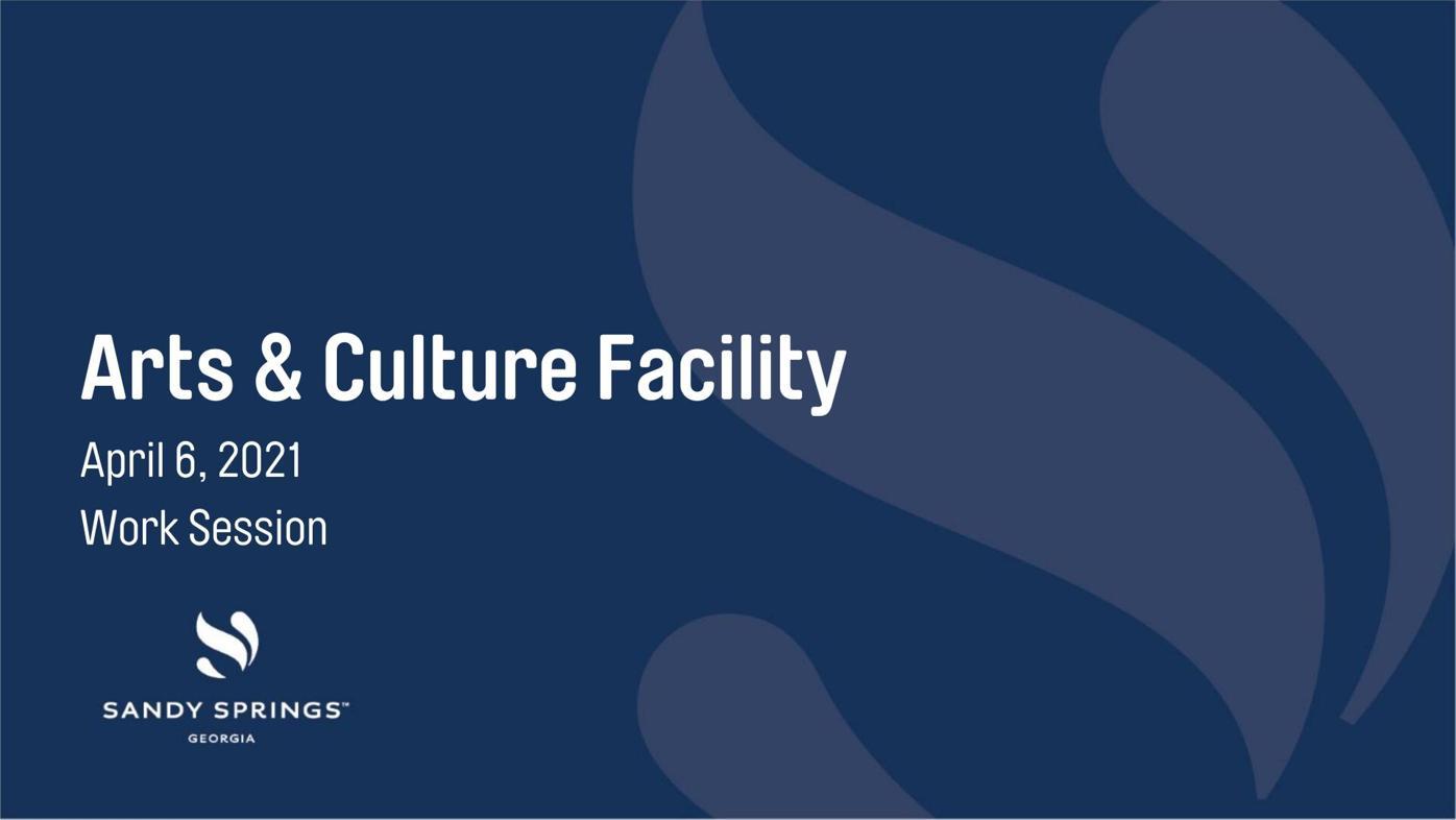 Arts and Culture Center presentation