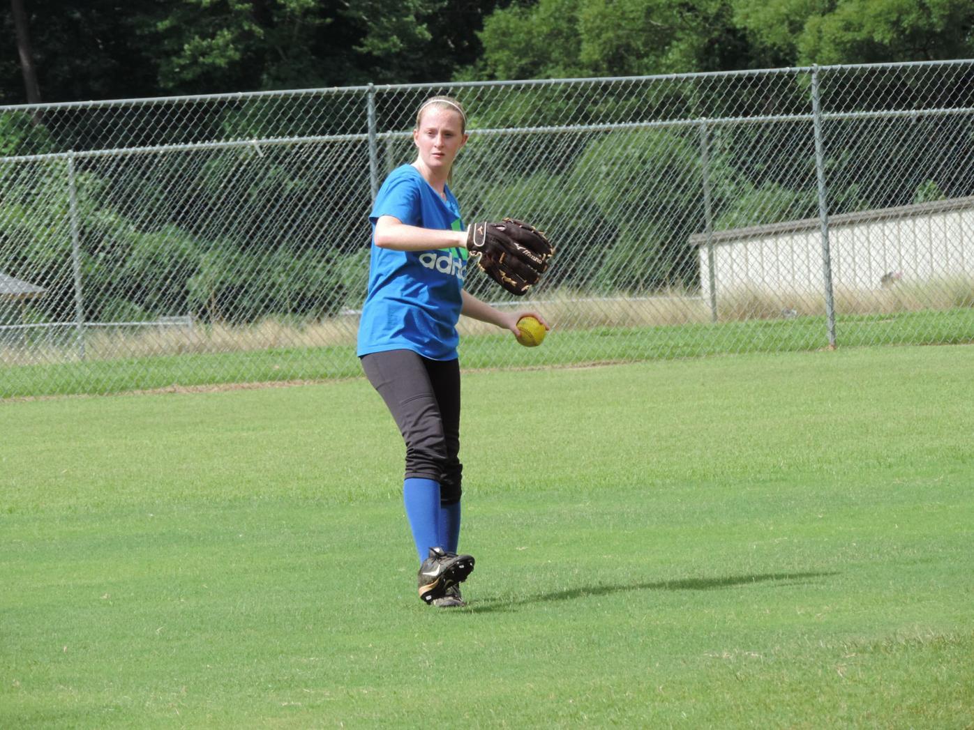 Lithia Springs softball Haley Overton