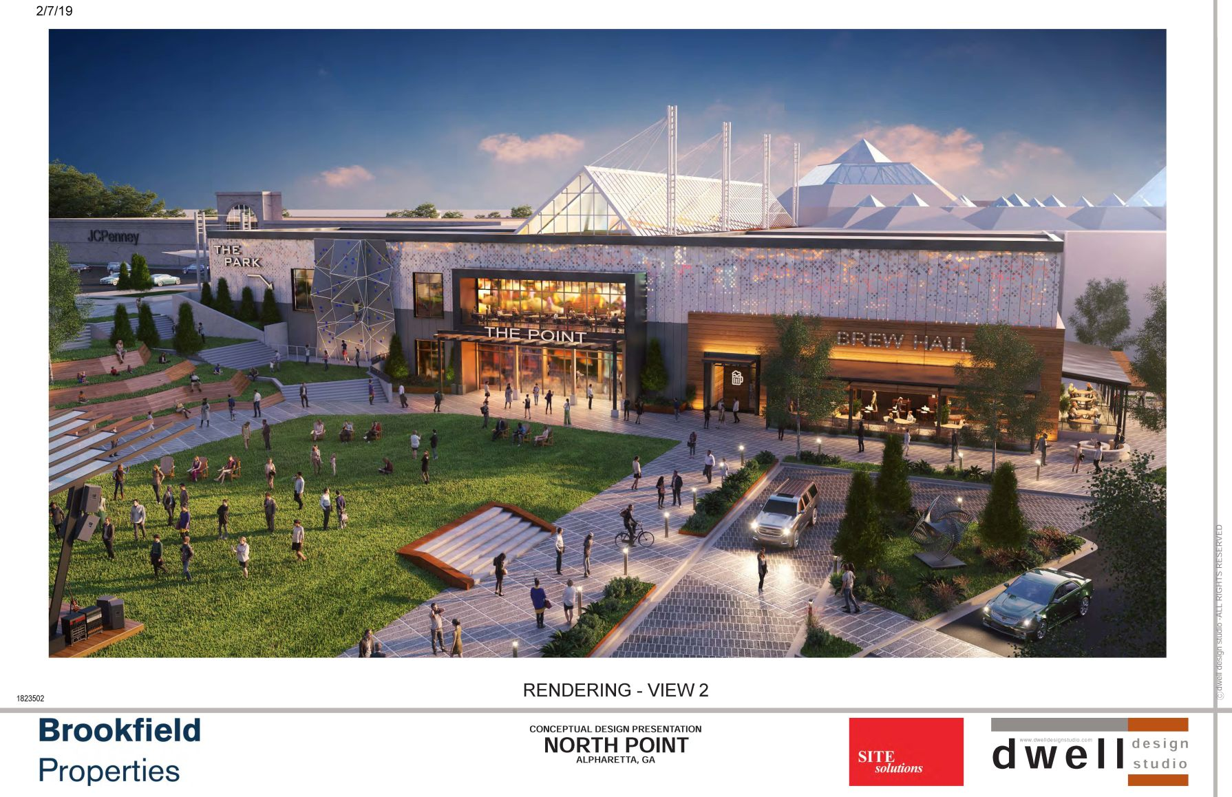 North Point Mall Rendering