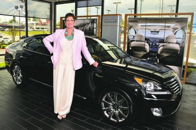 Following her father: Marietta's Valery Voyles is a car dealership