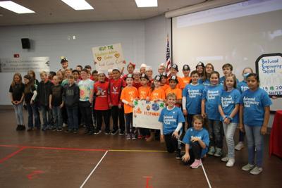 Gordon County robotics students