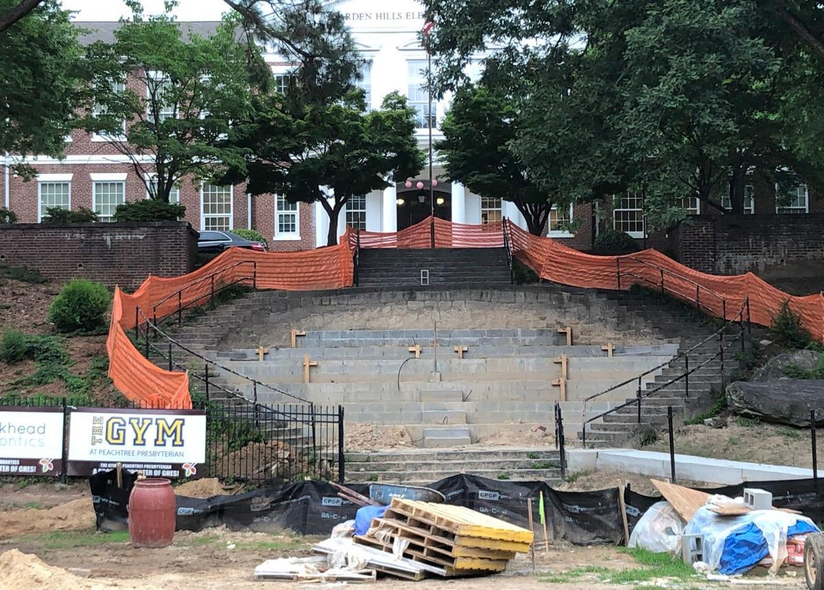 071719_MNS_Garden_Hills_001 (0884) amphitheater under construction