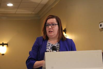 Mindy Seger at debate