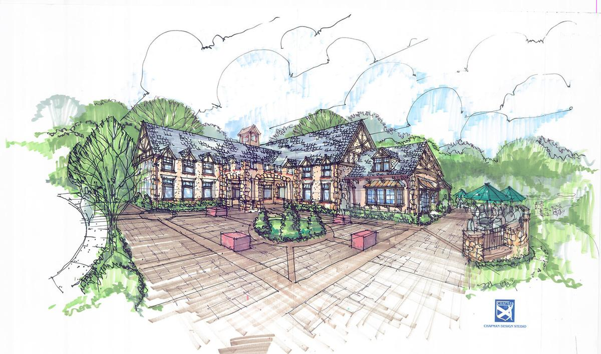 Bobby Jones course 4 Murray Golf House rendering