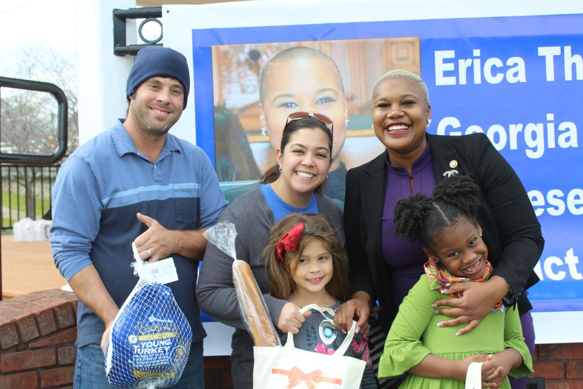 Fall Festival In Austell Gives Thanksgiving Goodies To